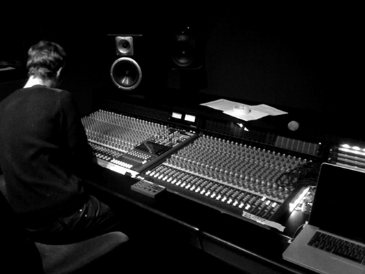 Riversight-Ein Tag im Studio